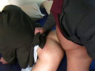 Rim + Fuck That Hairy Bubble Butt Flipfuck