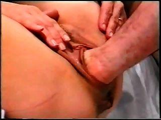 Milfs legs behind head anal