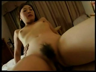 Pretty Japanese Milf Sexy Hairy Cunt Fucked & Creampied