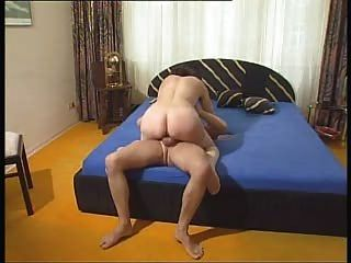 Hairy Milf In Stockings Fucked