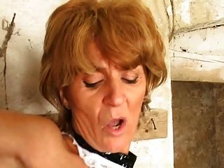 The sadist granny vi face slapping caning whipping - 3 10