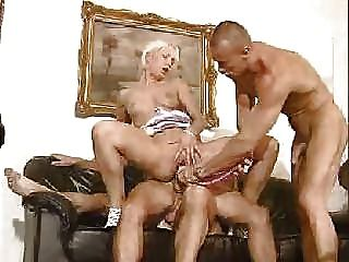 image Euro housewife gets fisted and fucked by a young cock