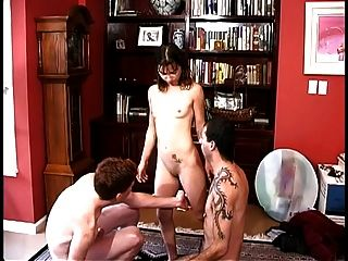 Bi Guy Gets On His Knees And Sucks On A Big Thick Cock Then Fucks