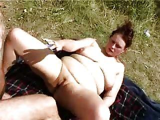 chubby outdoor sex - Bbw Outdoor Party Fucks1