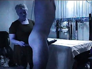 Brunette tits cum handjob