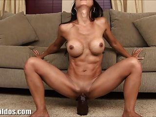 Riding wife asian