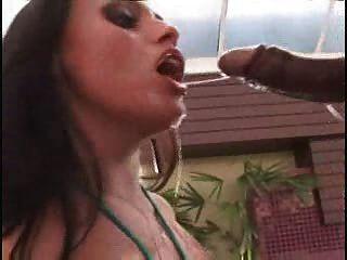 Regina Rizzi Sucks Hard Cock For Cumshot