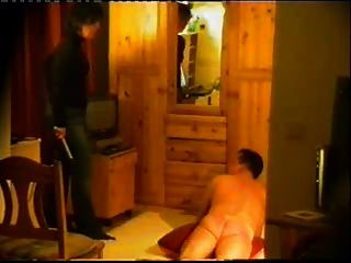 Punishment With The Belt-whipping
