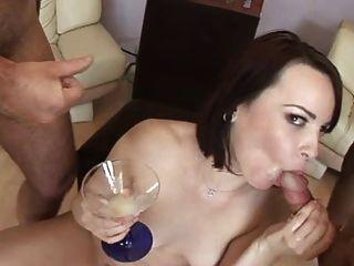 Jackie daniels survives by drinking cum 7