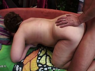 Kinky Housewife Playing With Her Toy Boy