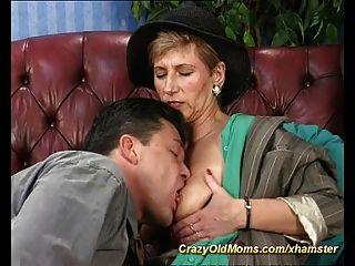 Moms first anal sex