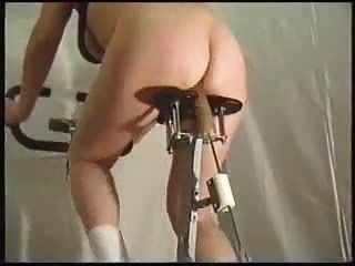 You Naked on exercise bike