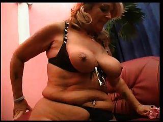 Blonde Lesbian Mature Loverly Milf