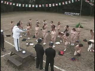 Mature Japanese Women Strip And Exercise