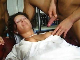 Bride Orgy German
