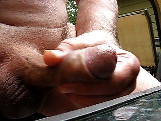 65 Yr Old Grandpa Cums #4