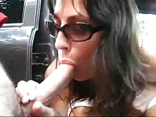 Nice Ass Milf Fucking & Sucking Outdoors