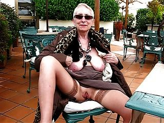 10 whoring grannies fucked in public park - 1 6
