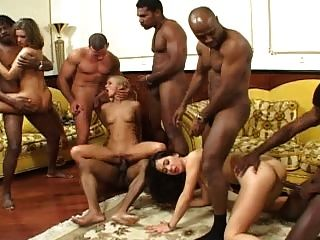 Dora Venter Interracial Orgy