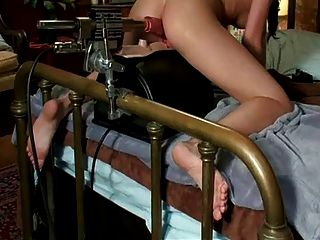 Petit Girl On The Sybian