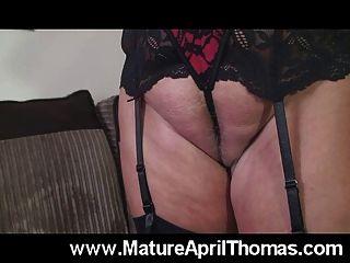 April Thomas Dildo Fuck