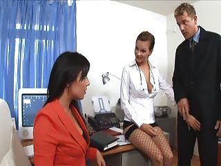 Cockold watching wife being fucked
