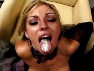 image Chelsie rae cumswallow game in gangbang