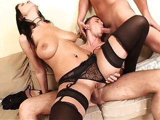 Amateur bisexsual fun hubby and wife both fucked bareback 7