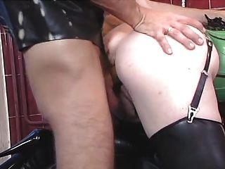 Daniella Rush Leather Dp And Anal Orgy