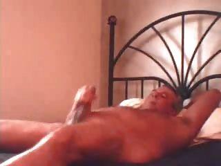 Dad Beats Off In Bed