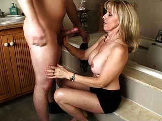 sucking milf cock old year 60