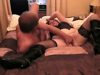 Hot goth girl ass and pussy