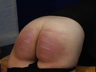 Spanking Caning - Jeans And Bare Bottom