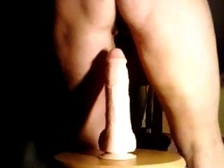Real Home Video, Milf Dildo, huge Cum