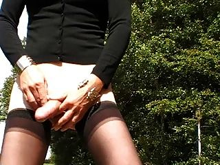 A Walk In The Nature And Jerk Off