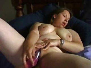 Horny Bbw Ex Girlfriend Masturbating With Vibrator