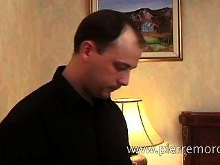 A French Couple Masturbating