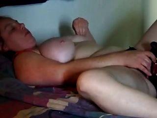 Chubby Wife Masturbates On Cam
