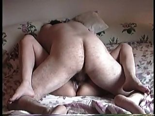 Hairy chubby missionary amateur