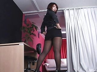 Shemale Pantyhose Fetish Thai 105