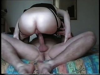 Husband Gives Wife An Anal Cream Pie !