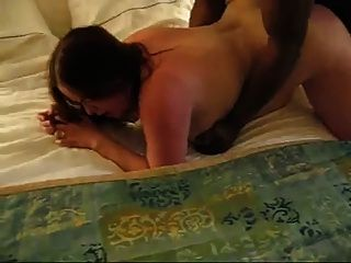 Curvy Amateur With Glasses Takes Black Cock