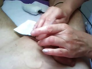 Getting Pierced Cock And Balls Waxed Again!
