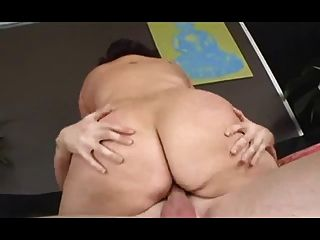 Fat Bitch With Floppy Tits Gets Fucked Hard