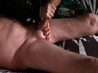 Head of his cock wax