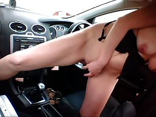 Pussy shifter with in girl car