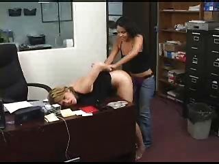 Employee Gets Anal Punished
