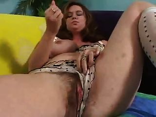 Very Exiting Girl With Big Hairy Pussy