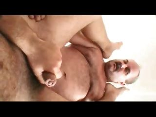 Daddy And Guy Fucking Home On The Sofa