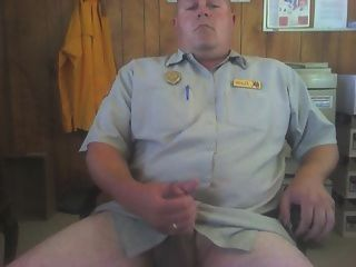 Jerking Off In My Office